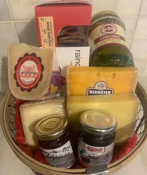 European Cheese Gift Basket