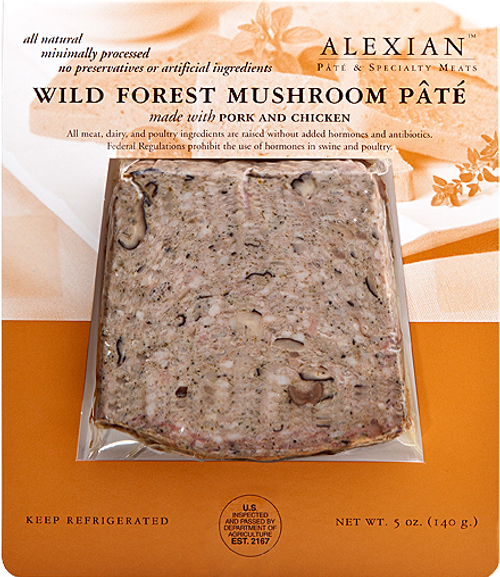 Alexian  Wild Forest Mushroom Pate Slices