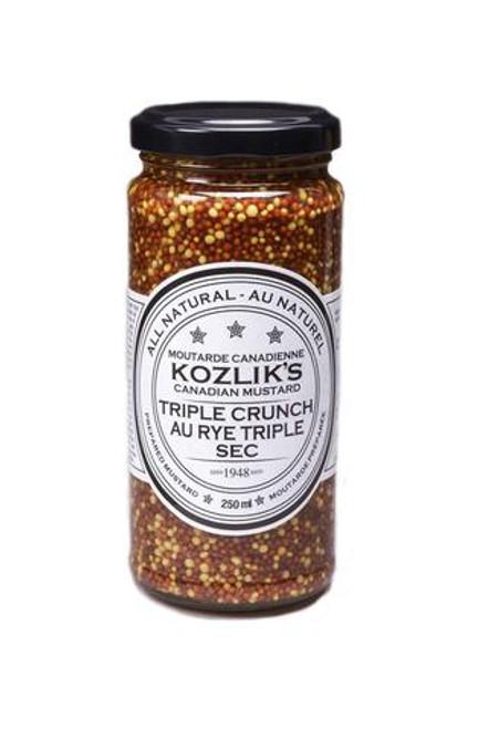 Kozlik's Triple Crunch Mustard (Whole Seed)