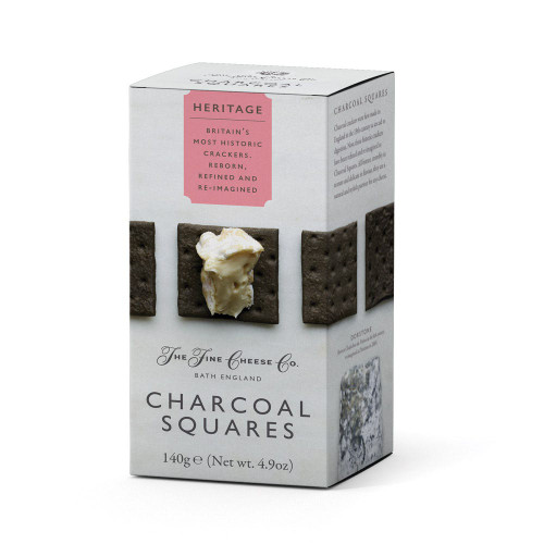 Charcoal Squares - The Fine Cheese Co 4.9 oz