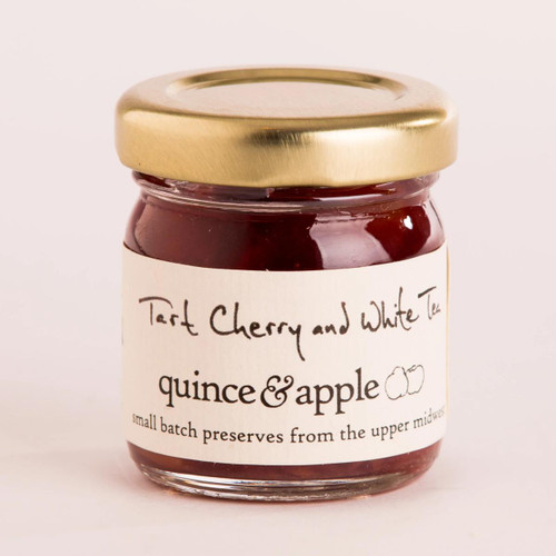 Quince and Apple - Tart Cherry and White Tea Preserve