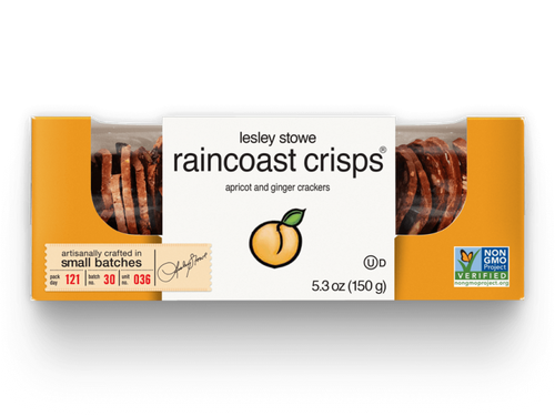 Leslie Stowe Apricot Ginger Crisps