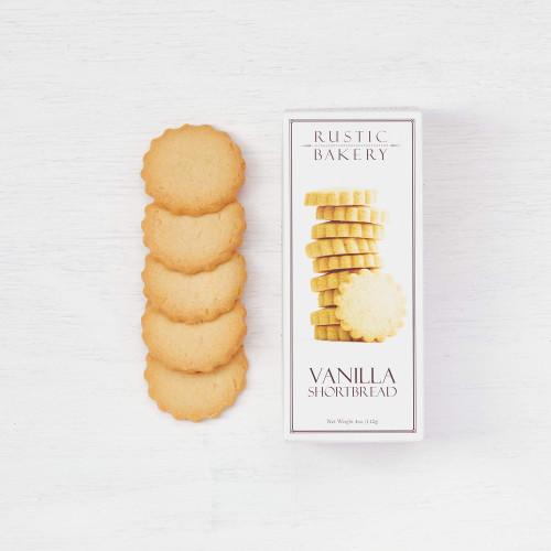 Rustic Bakery Vanilla Bean Shortbread Cookies