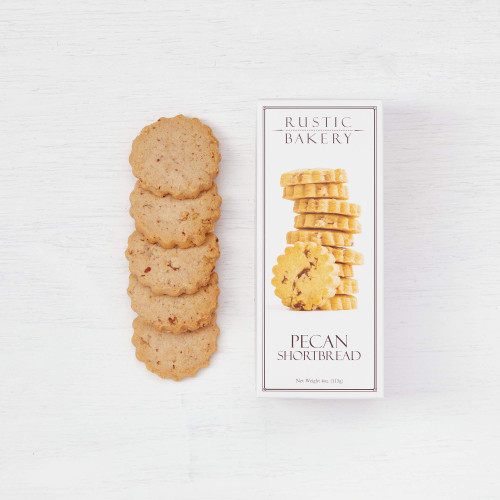 Rustic Bakery Pecan Shortbread Cookies