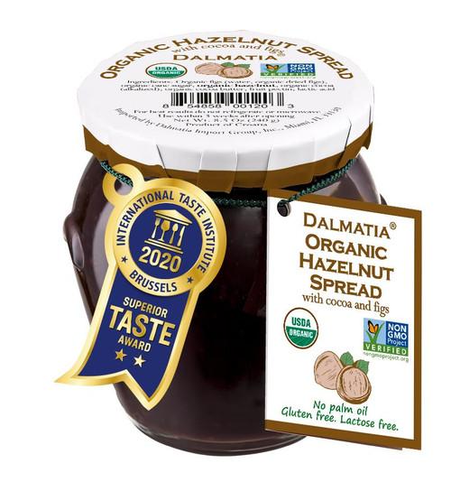 Dalmatia Organic Hazelnut Spread