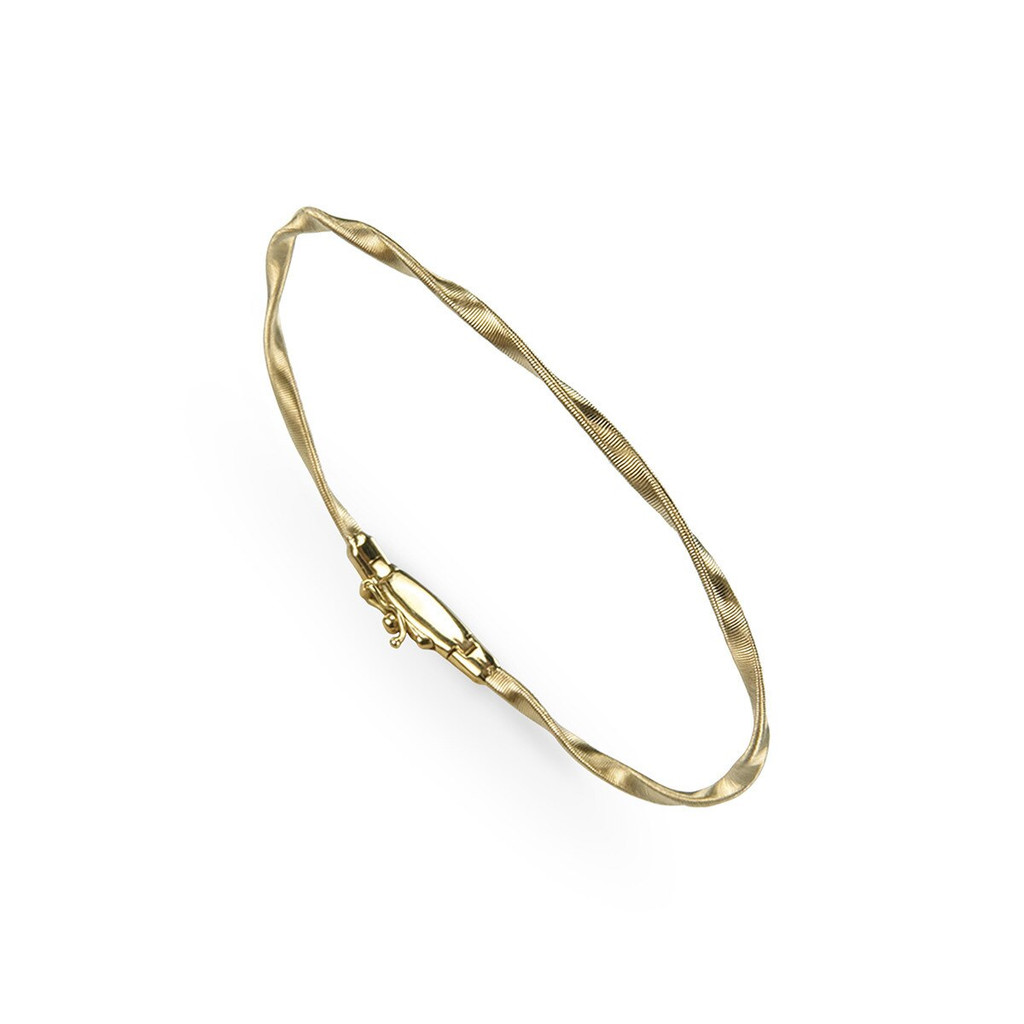 18k Yellow Gold Bangle (#261868)