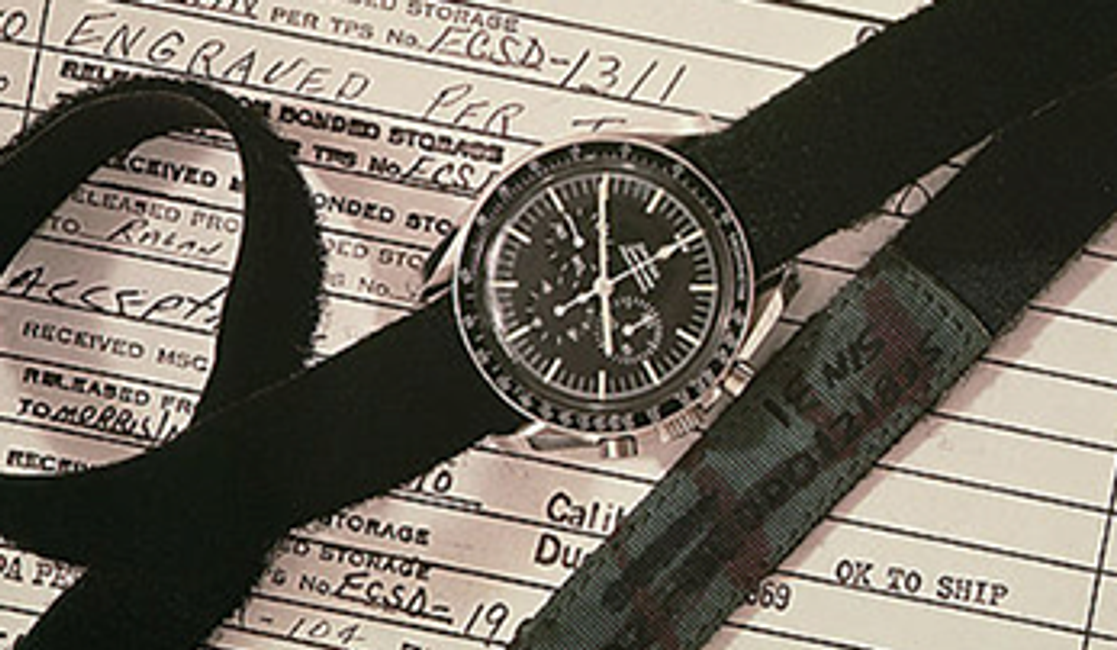 The Story Behind the Iconic Omega Speedmaster Moon Watch