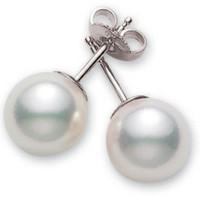 Akoya Pearl Stud Earrings (#351496)