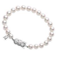 Akoya Cultured Pearl Strand Bracelet (#352919)