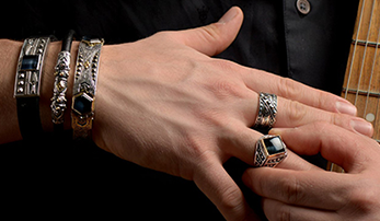 On Trend: Men's Rings