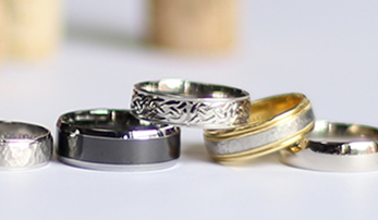 Men's Wedding Bands He'll Love