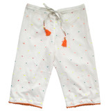 Lulu Coloured Dots Girls Pants - Pack of 3