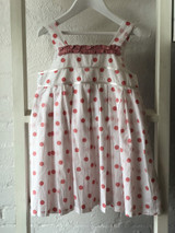 Dotty Girls Pink Sundress  - Pack of 3