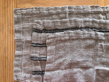 Handloomed/Rustic Linen Place Mats with White Stripes