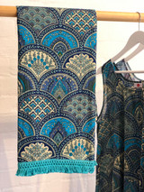 Blue Paisley Wrap/Sarong (MIN of 2)