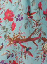 Bird Print Aqua Tunic Dress (Pack of 3)