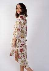 Burgundy Burst Tunic Dress (Pack of 3)