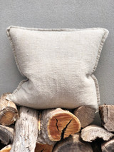 Handloomed/Rustic Linen Cushion Cover (August Delivery)