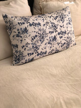 Blue & White Quilted Cushion Cover (Min of 2)