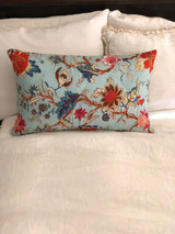 Arabella Sky Blue Quilted Cushion Cover (Min of 2)