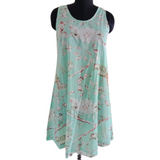 Blossom Mint Nightie/Dress