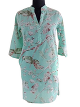 Blossom Mint Shirt Dress