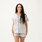 Grey Dots Short PJ Set (Pack of 2)