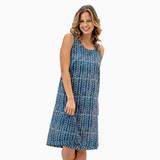 Indigo Stripe Dress