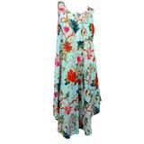 Arabella Aqua Bias Cut Dress