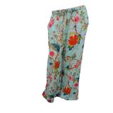 Arabella Aqua Cotton Lounge Pants
