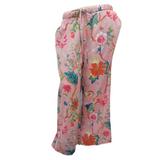 Arabella Hot Pink Cotton Lounge Pants