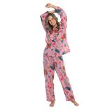 Arabella Hot Pink Long PJ Set
