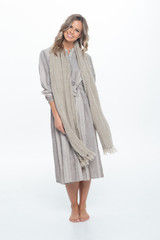 Scarf Natural Handloomed/Rustic Linen