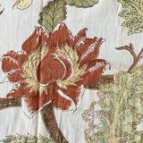 Burgundy Tree Kaftan
