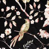 Blossom Black Half Sleeve Kimono (Min of 2)