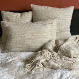 Bergen Ombre Stonewashed Linen Cushion Cover 40x60cm