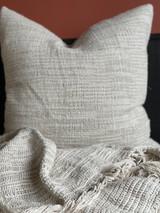 Bergen Ombre Stonewashed Linen Cushion Cover 65x65cm