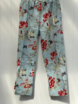 Bulbul Bird Powder Blue Cotton Pants