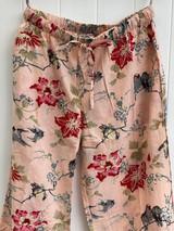 Bulbul Bird Pink Cotton Pants