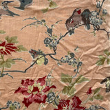 Bulbul Bird Pink Short PJ Set
