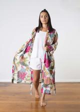 Samara White Kimono