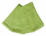 Green Yellow Napkin Set of 4