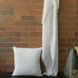 Firth Linen Throw Ivory