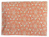 Cora Cotton Tablecloth Coral