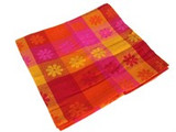 Hibiscus Daisy Cotton Cloth Orange