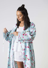 Ariana Blue Floral Robes Pack of 3