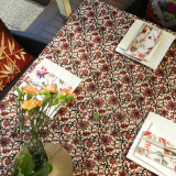 Multi-Purpose Sheet Vines Oriental Print
