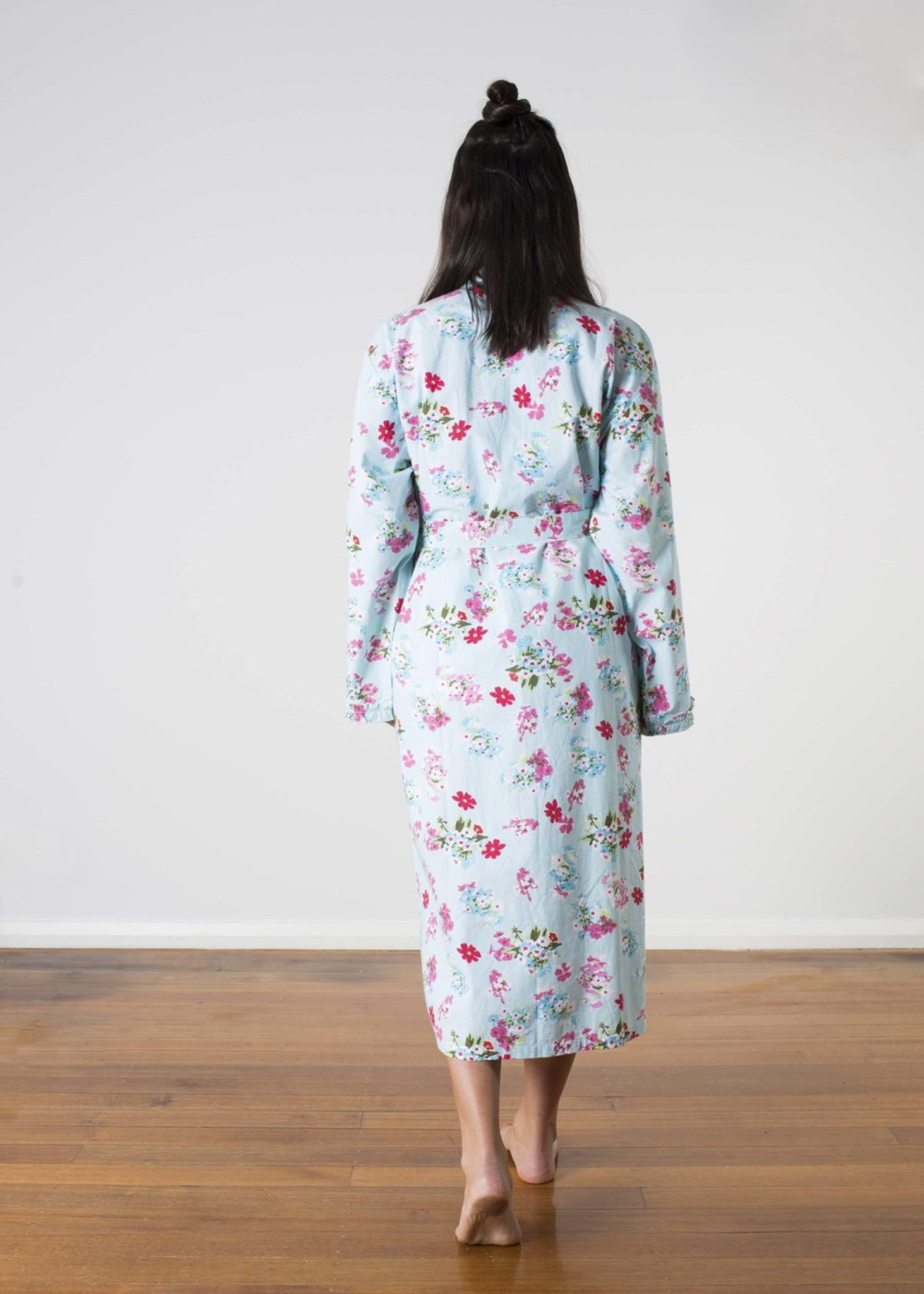 62c2a2bbac Ariana Blue Floral Robes PACK OF 3  S