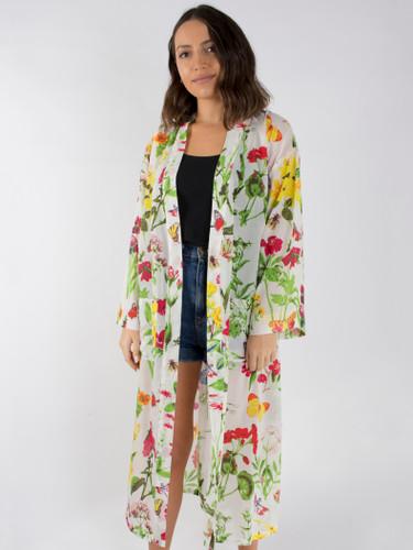 Butterfly Meadow Kimono