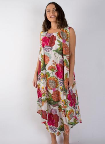 Samara White Long Dress